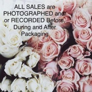 Other - Sales are Recorded/Photographed